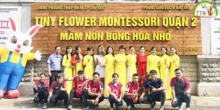 Khai trương Trường Tiny Flower Montessori Chi nhánh quận 2, phường Thảo Điền, T.P Thủ Đức