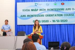 Lễ Tổng Kết Khóa Khóa Nhập Môn Phương Pháp Giáo Dục Montessori 0 – 3 Lần Đầu Tiên Ở TP. Hồ Chí Minh