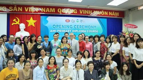 AMI Montessori Teachers Training Course (3-6) in Vietnam