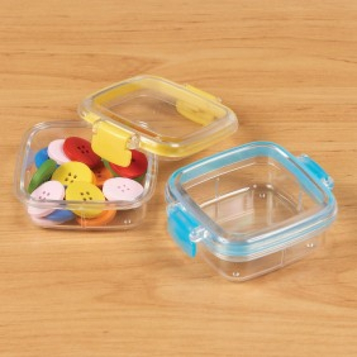 Square Clip-Lid Box