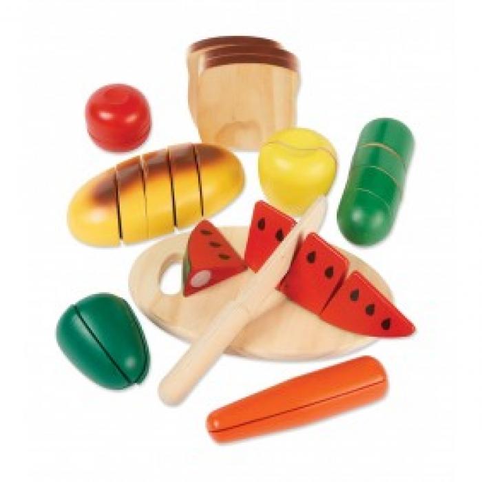 Wooden Food Slicing Set