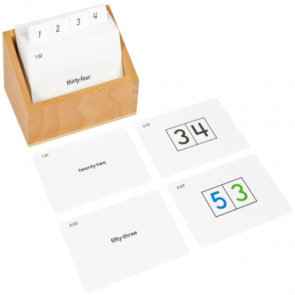 Bộ thẻ hỗ trợ bảng học đếm từ 11-99