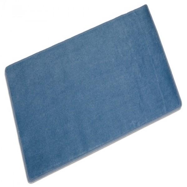 Thảm màu xanh dương