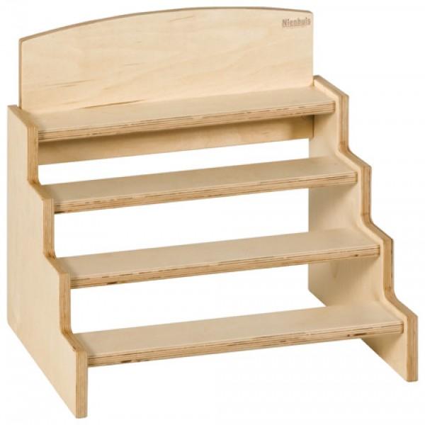 Kệ đỡ các khối trụ gỗ
