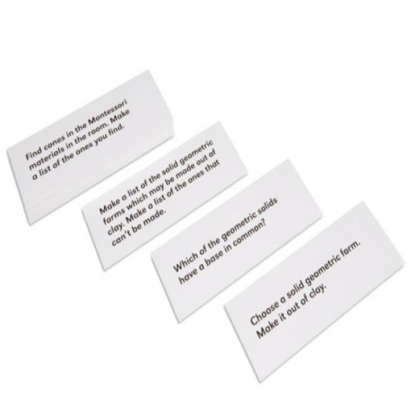 Thẻ mệnh lệnh về các khối hình học