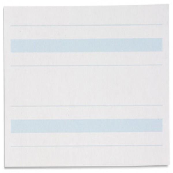 Giấy viết: Dòng kẻ màu xanh dương - 4 x 8.5 in - (500)