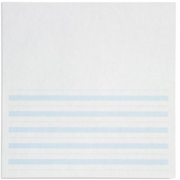 Giấy viết: Dòng kẻ màu xanh lá cây - 8.5 x 11 in - (500)