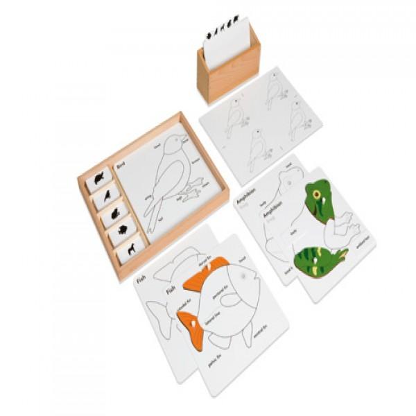 Bộ xếp hình động vật bằng nhựa