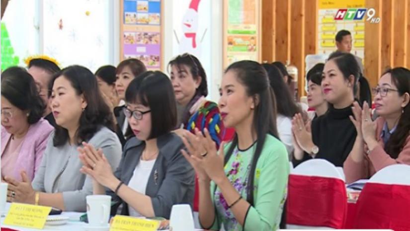 Đài Truyền Hình Đưa Tin Về Buổi Làm Việc Về Phương Pháp Montessori